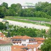 Royal Villa, Hradcany, Prague, Czech Republic Stock Photos