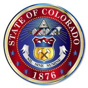 Colorado State Seal Stock Illustration
