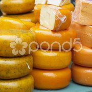Cheese market, Alkmaar, Netherlands Stock Photos