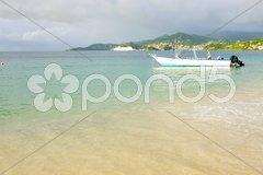 Grand Anse Bay, Grenada Stock Photos
