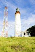 East Point Lighthouse, Barbados Stock Photos