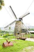 Morgan Lewis Mill, Barbados Stock Photos