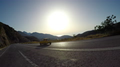 Driving in crete, island of greece. 4K 30fps ProRes (HQ) Stock Footage