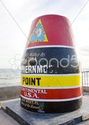 Southernmost Point marker, Key West, Florida, USA Stock Photos