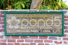 Hemingway House, Key West, Florida, USA Stock Photos