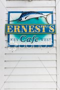 Ernest Hemingway''s cafe, Key West, Florida, USA Stock Photos