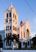 St. Paul''s Church, Key West, Florida Keys, Florida, USA Kuvituskuvat