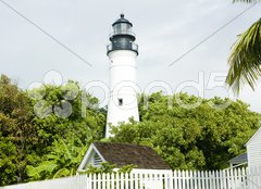 The Key West Lighthouse, Florida Keys, Florida, USA Stock Photos