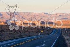 Landscape of Arizona, USA Stock Photos