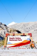 Entrance, Death Valley National Park, California, USA Stock Photos