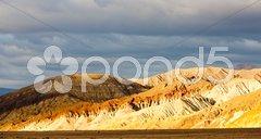 Artist''s Drive, Death Valley National Park, California, USA Stock Photos