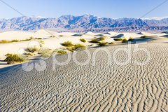 Stovepipe Wells sand dunes, Death Valley National Park, California, USA Stock Photos