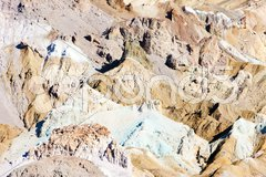 Artist''s Palette in Artist''s Drive, Death Valley National Park, California, US Stock Photos