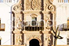San Xavier del Bac Mission, Arizona, USA Stock Photos