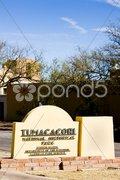 Tumacacori National Historical Park, Arizona, USA Stock Photos