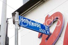 Hollywood Boulevard, Los Angeles, California, USA Kuvituskuvat