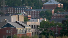 Fredericton, New Brunswick. Canada City Skyline. Stock Footage