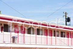 Motel in Las Vegas, Nevada, USA Stock Photos
