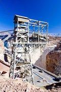 Hoover Dam surroundings, Arizona-Nevada, USA Stock Photos