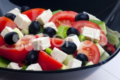 Greek salad Stock Photos