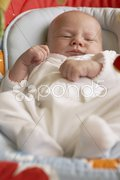 One month old baby Stock Photos