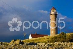 Lighthouse, Lista, Norway Stock Photos