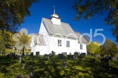 Church, Bykle, Norway Stock Photos