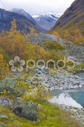 Jostedalsbreen National Park, Norway Stock Photos