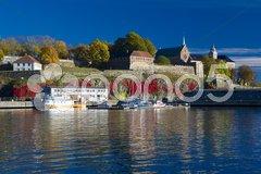 Akershus Fortress, Oslo, Norway Stock Photos