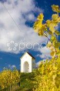 Chapel near Hnanice, Znojmo Region, Czech Republic Stock Photos