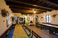 Wine cellar, Chvalovice, Czech Republic Stock Photos