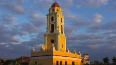 A beautiful shot of the Church Of The Holy Trinity in Trinidad, Cuba. Stock Footage