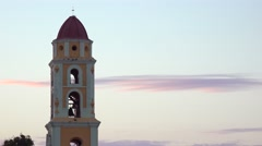 A shot of the Church Of The Holy Trinity in Trinidad, Cuba. Stock Footage