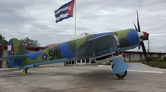 A museum and monument in Cuba remembers the Bay Of Pigs incident. Stock Footage