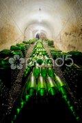 Wine archive, Hort Winery, Znojmo - Dobsice, Czech Republic Stock Photos