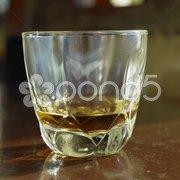 Glass of Havana Club (7 years old), Havana, Cuba Stock Photos