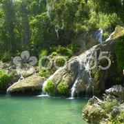 El Nicho waterfall, Cienfuegos Province, Cuba Stock Photos