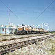Goods train, Jatibonico, Sancti Spiritus Province, Cuba Kuvituskuvat