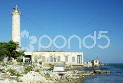 Lighthouse, Cabo Cruz, Parque Nacional Desembarco del Granma, Granma Province, C Stock Photos