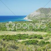 Coastline, Granma Province, Cuba Stock Photos