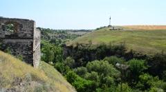 Ukrainian fortress, ancient. Stock Footage