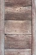 Wooden plank useful as background. Stock Photos