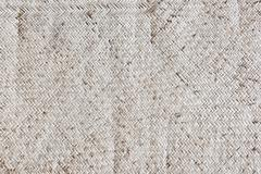 Old reed mat pattern in light brown color Stock Photos
