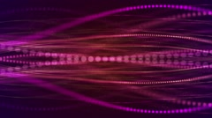 Dotted lines colorful - Elegant animation loop motion video background HD Stock Footage
