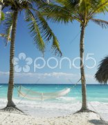 On the beach, Cayo Coco, Cuba Stock Photos