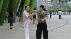 Chinese Chen Taijiquan Stock Footage