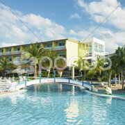 Hotel''s swimming pool, Cayo Coco, Cuba Stock Photos