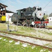 Railway museum, Marcelo Salado, Villa Clara Province, Cuba Stock Photos