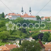 Strahov Monastery, Prague, Czech Republic Stock Photos