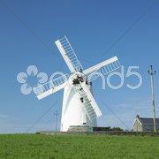 Ballycopeland Windmill, Northern Ireland Stock Photos